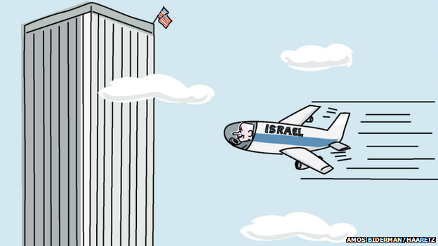 The Haaretz cartoon