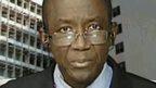 Sierra Leone's Health Minister, Dr Abubakarr Fofanah