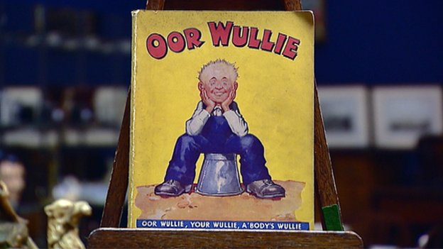 First edition oor wullie found in attic auctioned for £5,400