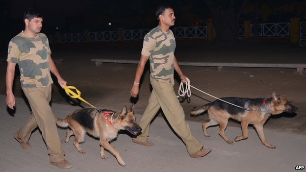 Security has been tightened at the Wagah border after Sunday's blast