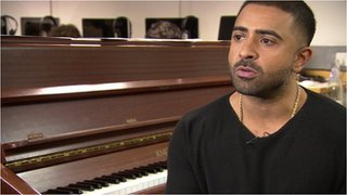 BBC News - RnB star Jay Sean returns to his roots in West London
