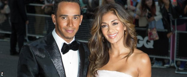 THE COSTS OF FORMULA 1 _78765844_lewis_nicole