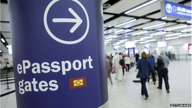UK airport border controls