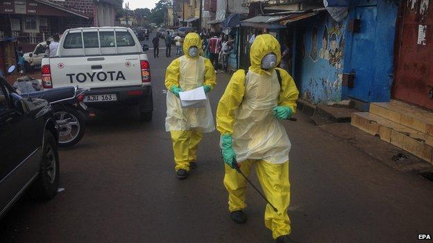 Medics in Sierra Leone