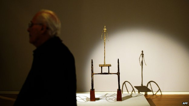 Chariot by Alberto Giacometti