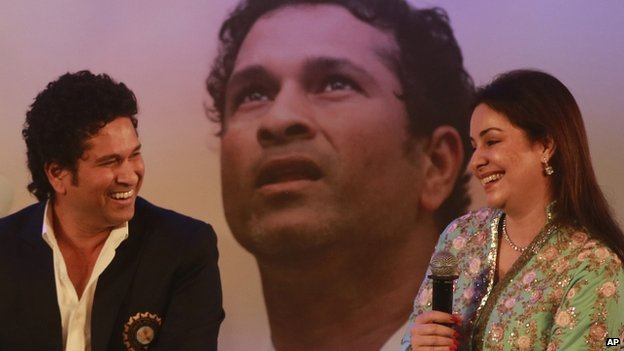 Tendulkar says his wife Anjali played a crucial part in his career