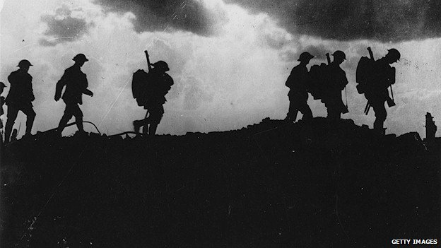 5 October 1917: British troops moving up to the trenches, 2.5 miles east of Ypres