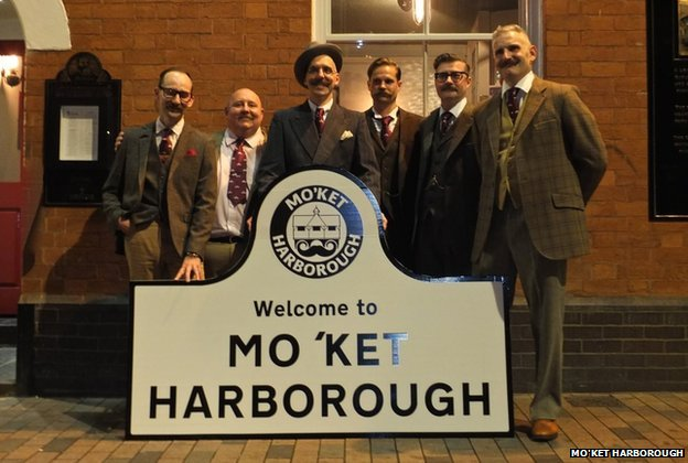Market Harborough changes its name for Movember