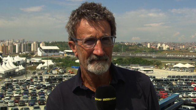 BBC F1 chief analyst Eddie Jordan