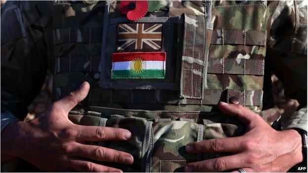 British military adviser