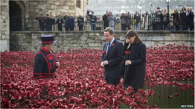 100 Years of Remembrance: 1914 to 2014 and 1918 to 2018 _78862250_poppies_reuters
