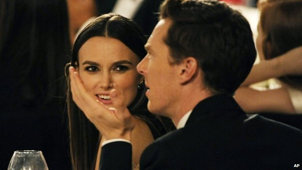Keira Knightley and Benedict Cumberbatch