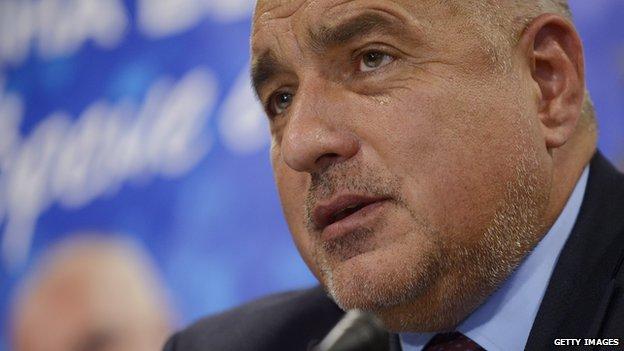 Bulgarian PM Boyko Borisov