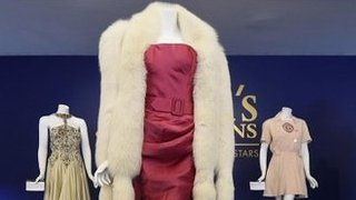 BBC News - Madonna's clothes sell for millions at celebrity auction