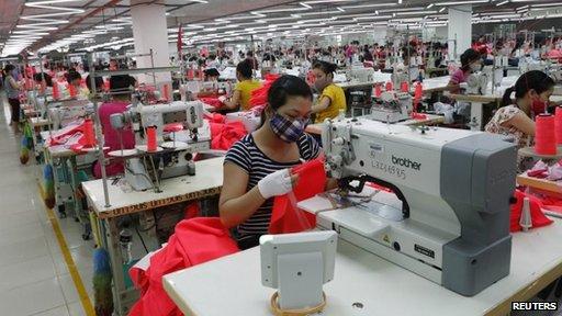 Garments factory