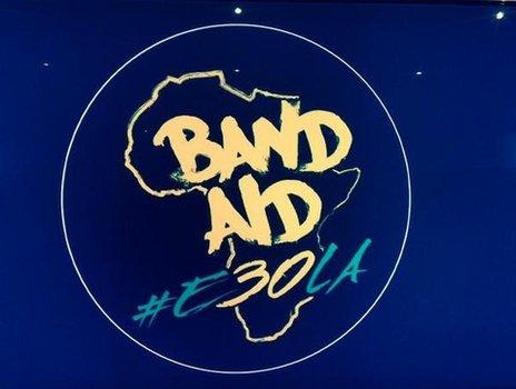 Band Aid 30 single art