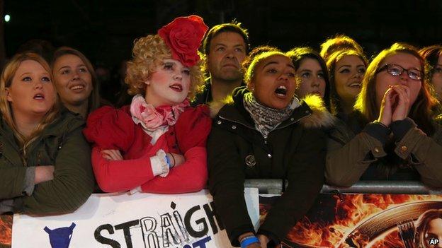Hunger Games fans