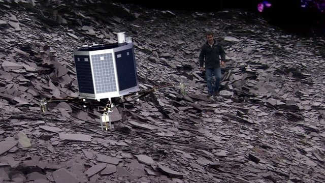 Rosetta mission: Robot making historic descent to comet ...