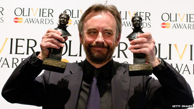 ENO artistic director John Berry at 2012 Olivier Awards