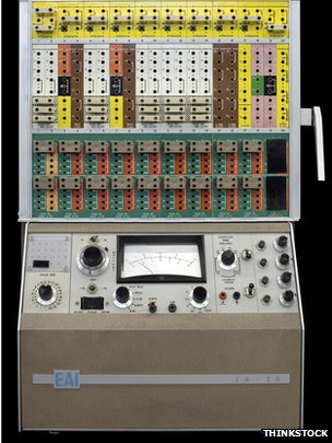 An EAI TR-20 computer from the early 1960s