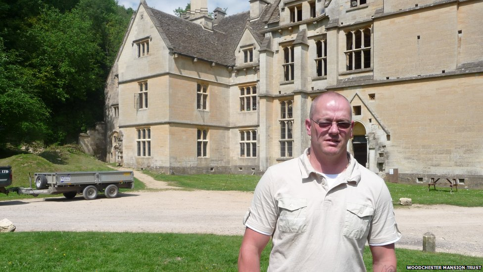 Andrew Fryer was a caretaker at Woodchester Mansion