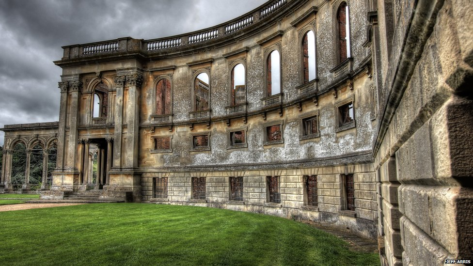 What Happened To England 39 S Abandoned Mansions Bbc News