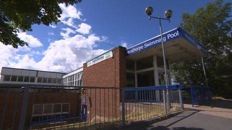 Bbc News Minsthorpe Community College Swimming Pool Gets Go Ahead