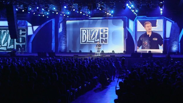 Blizzcon conference floor