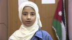 A Syrian girl