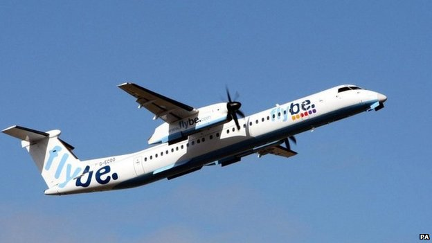 Flybe returns to Bournemouth Airport - BBC News