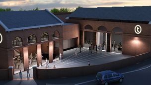 Artist impression of the Tramshed