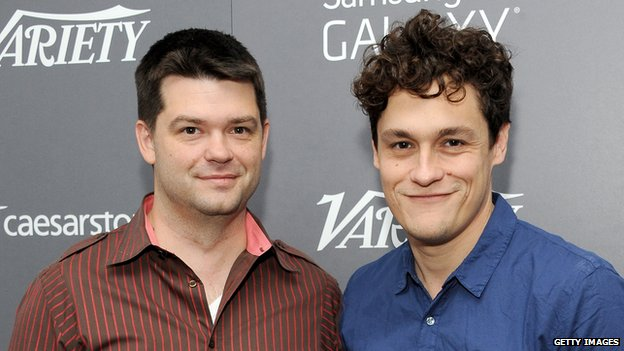 Christopher Miller (left) and Phil Lord have enjoyed success with the Lego Movie and 22 Jump Street in 2014