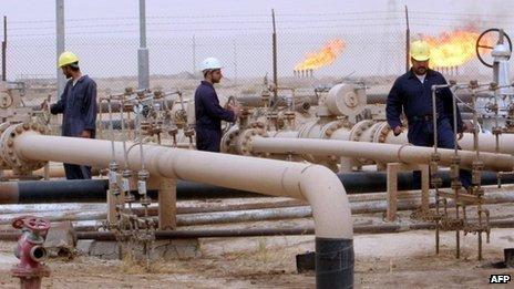 Giacimento di petrolio in Iraq