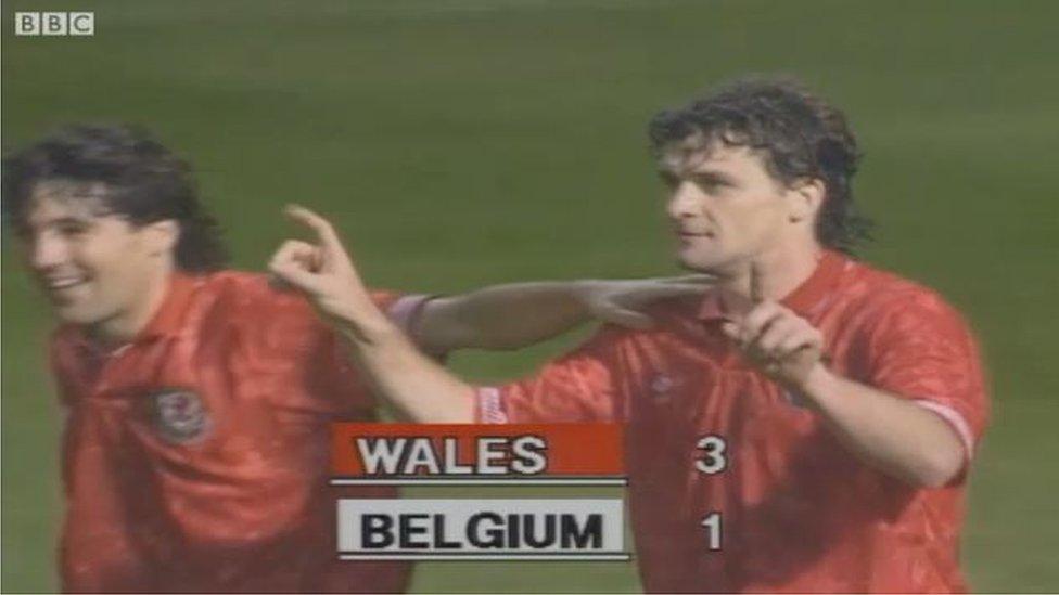 Euro 2016 countdown: Rush, Saunders and Hughes seal stunning Welsh win over Belgium