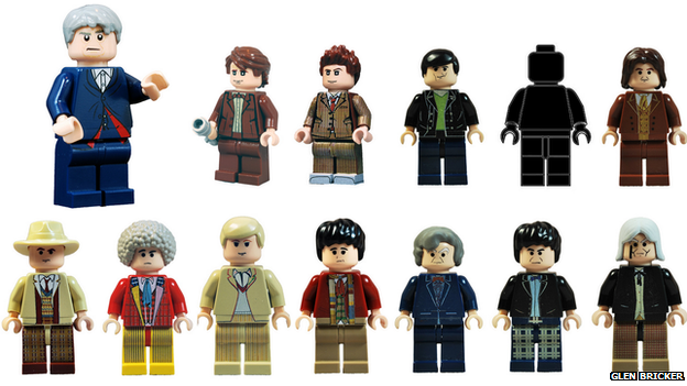 Lego Dr Who characters