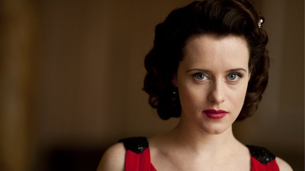 Claire Foy played Lady Persephone in the revived Upstairs Downstairs