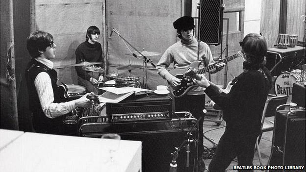 The Beatles rehearing