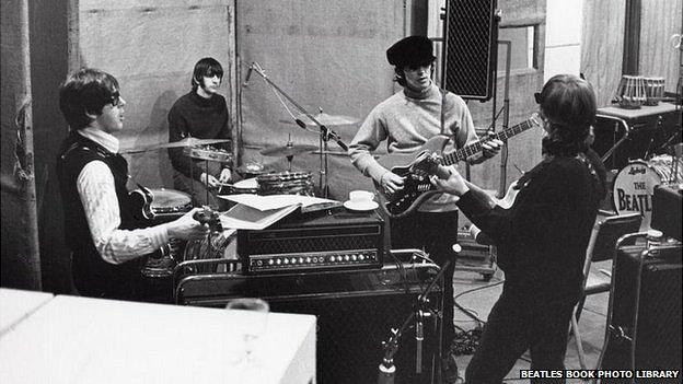 The Beatles rehearing