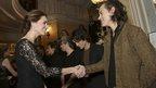 1D meet the Duchess
