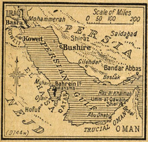 Map of the Gulf