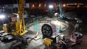 tunnel-boring machine