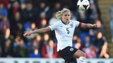 Steph Houghton captains England women as they make history on Sunday by playing their first game at Wembley stadium.