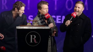 BBC News - Take That switch on London's Regent Street Christmas lights