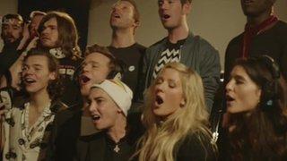 BBC News - Band Aid 30: Stars perform on single