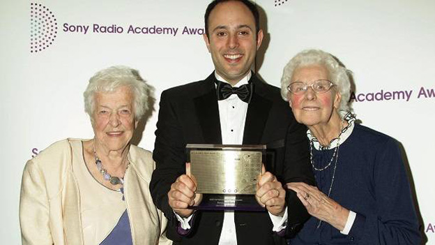 Betty Smith with her award