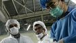 Iranian nuclear technicians at Isfahan plant (file photo)
