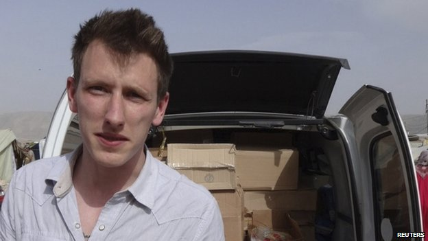 Abdul-Rahman Kassig appeared in Lebanon's Bekaa Valley in May 2013