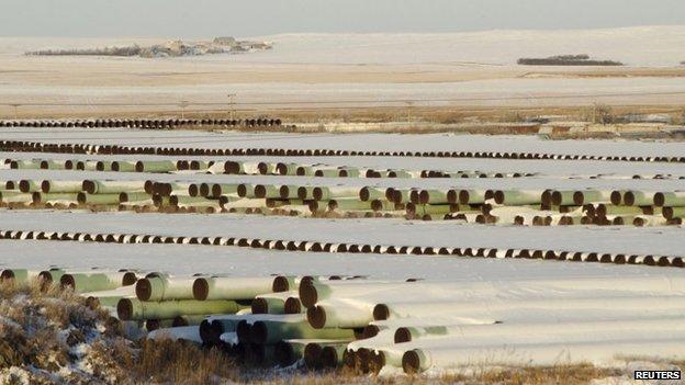 Proyecto Keystone en Dakota del Norte