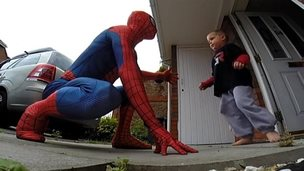 """Spider-Man"" with Jaden Wilson"