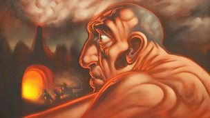 The Age of Steam by Peter Howson